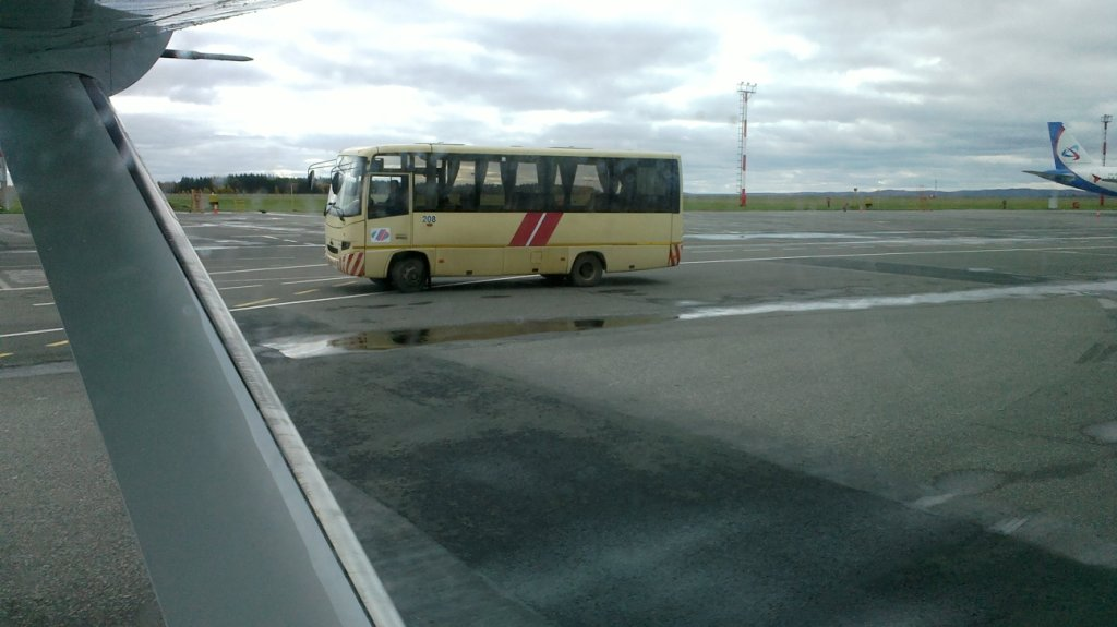 В аэропорту Курумоч