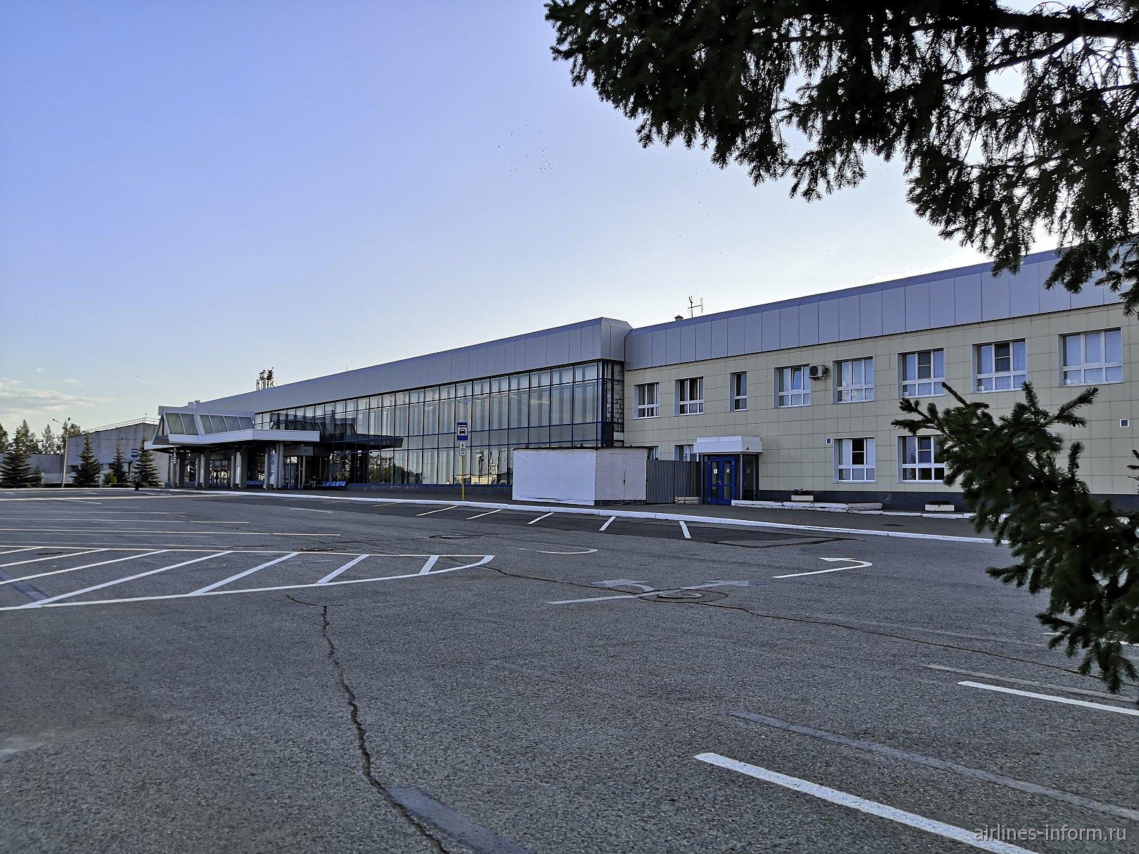 Пассажирский терминал аэропорта Магнитогорск