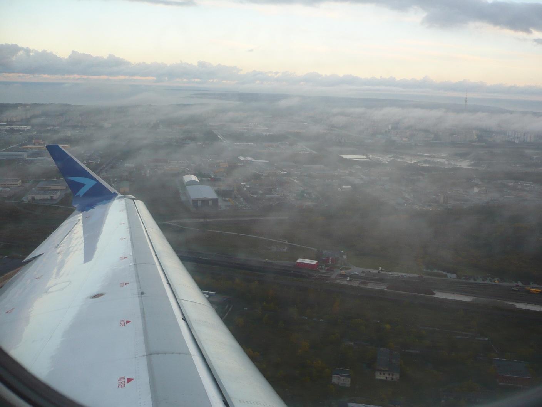 Взлет над Таллинном