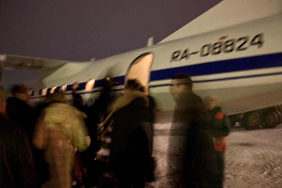 Посадка на рейс Саранск-Москва