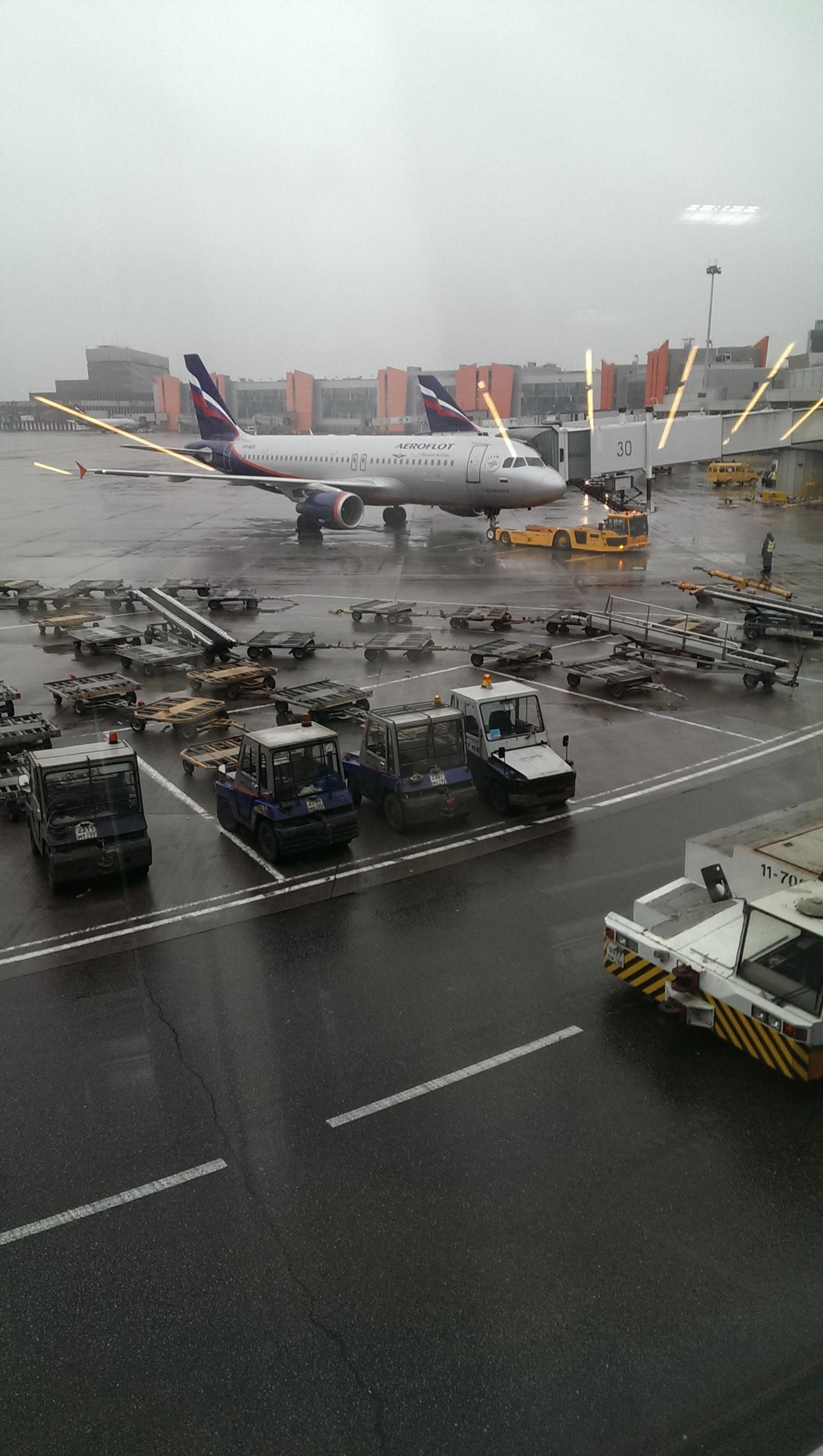 Аэрофлот Москва-Берлин