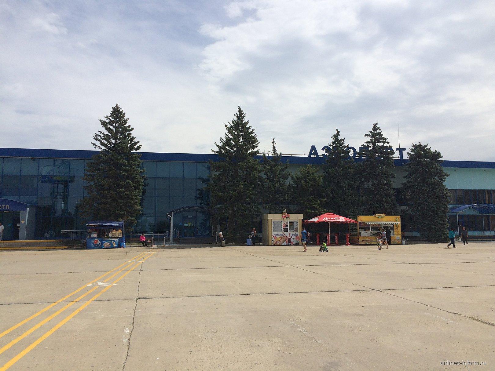 Аэровокзал аэропорта Анапа Витязево