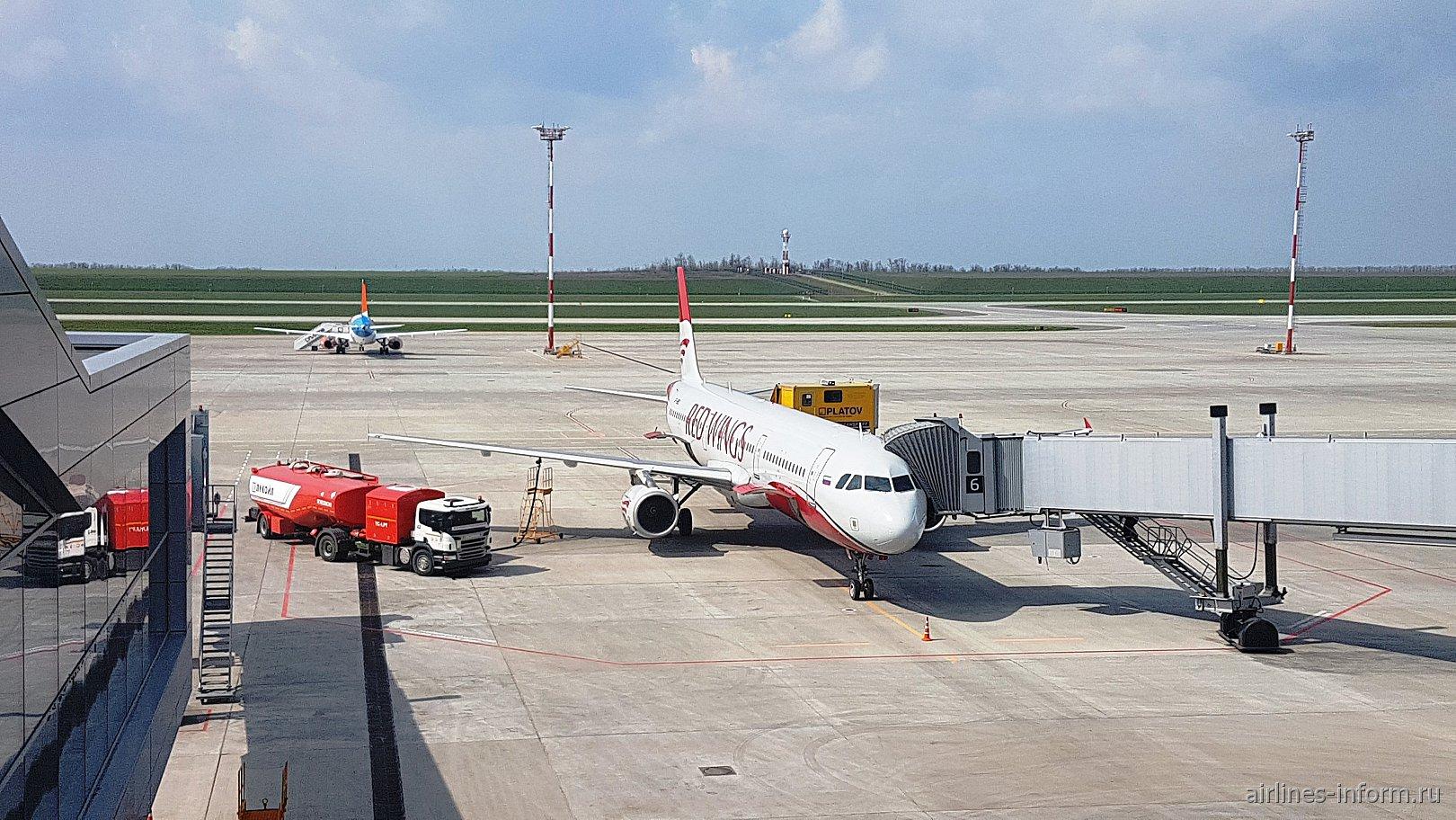 "Ростов-на-Дону (Платов/ROV) - Анталья (AYT) с ""Red Wings"" на Airbus A321"