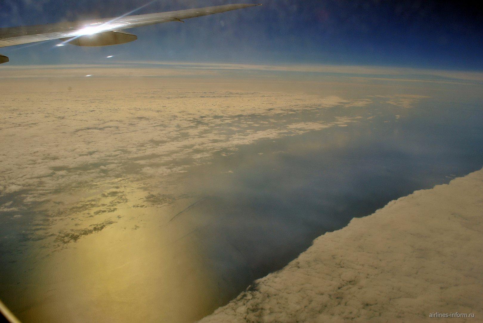 Облака над Черным морем