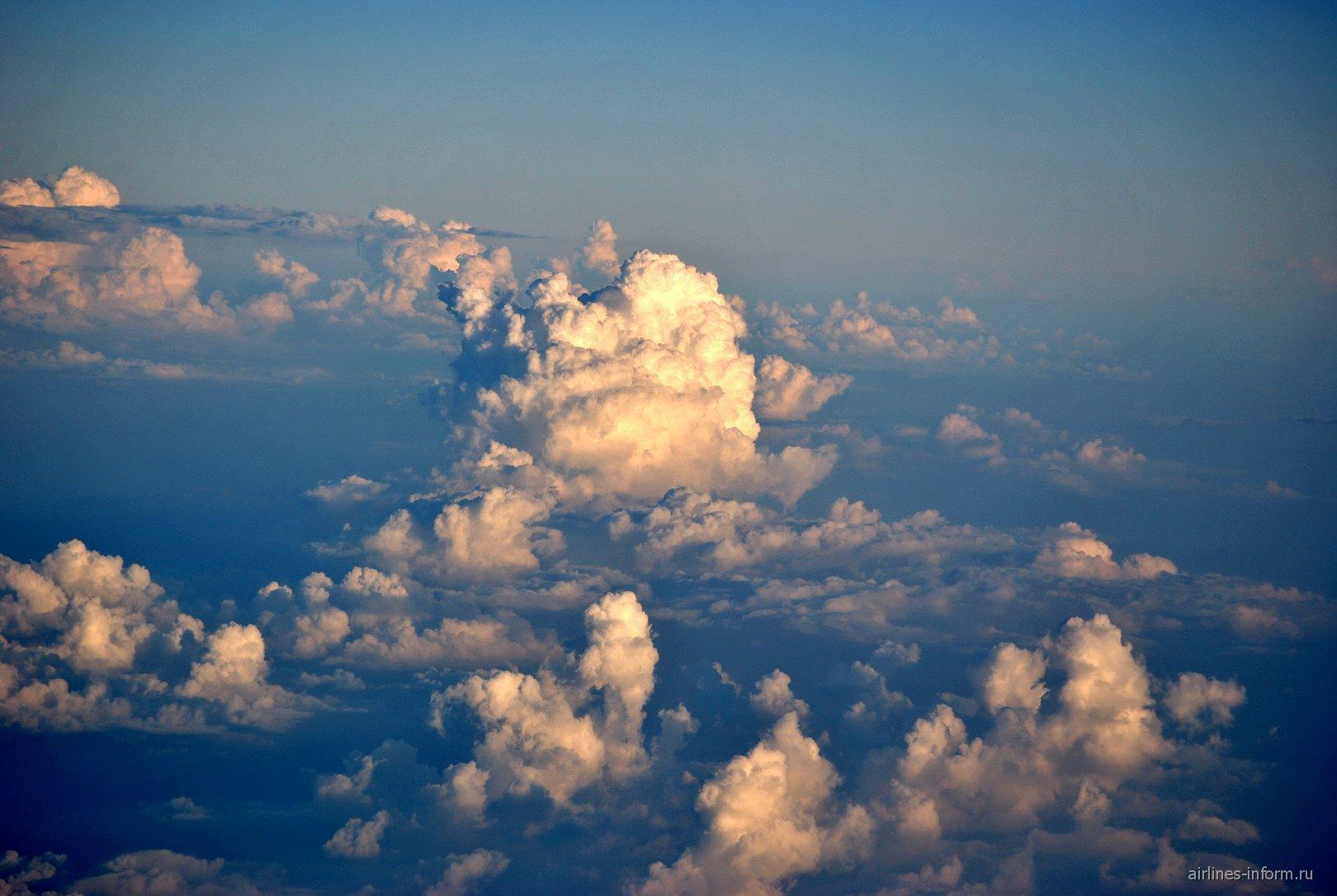 Вечерние облака над Сиамским заливом