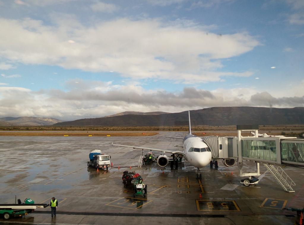 Летное поле аэропорта Сан-Карлос-де-Барилоче