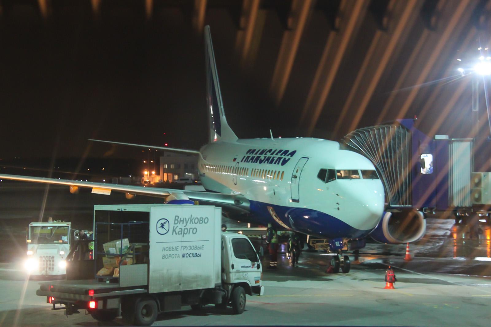 Boeing 737-700 EI-RUL авиакомпании Трансаэро