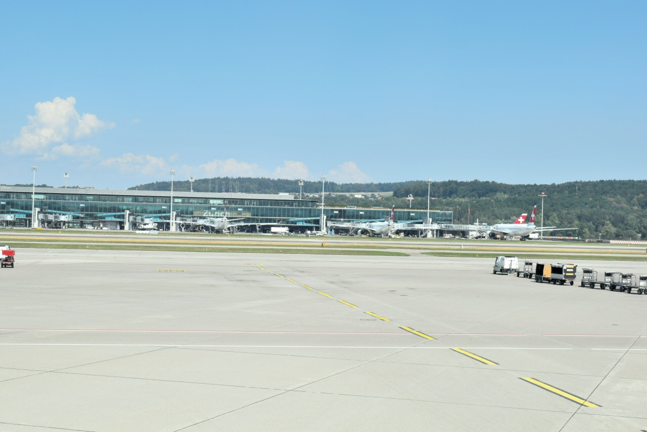 Пирс E аэропорта Цюрих