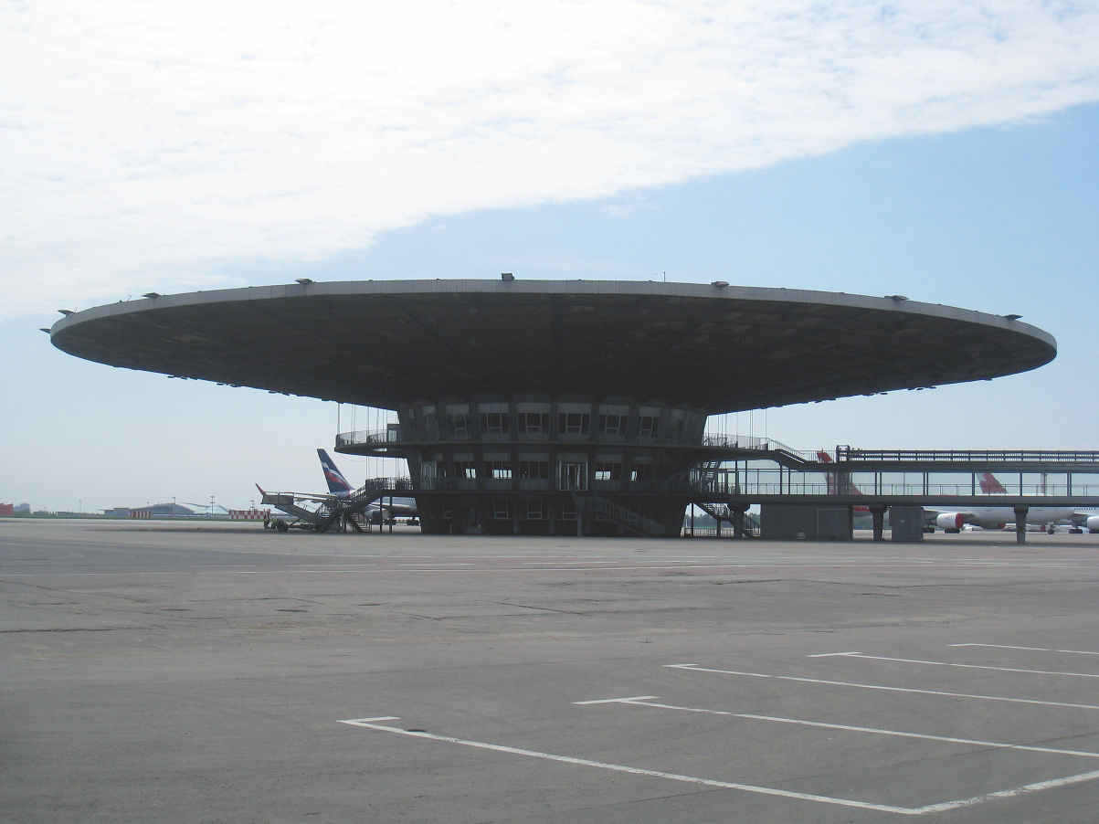 Рюмка - бывший посадочный павильон в аэропорту Шереметьево