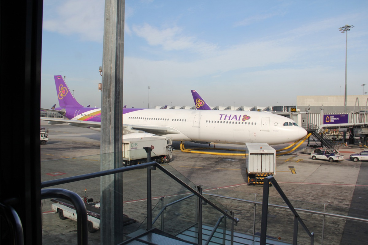 Airbus A330 of Thai Airways