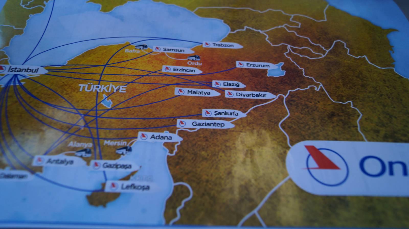 Журнал для пассажиров авиакомпании Onur Air