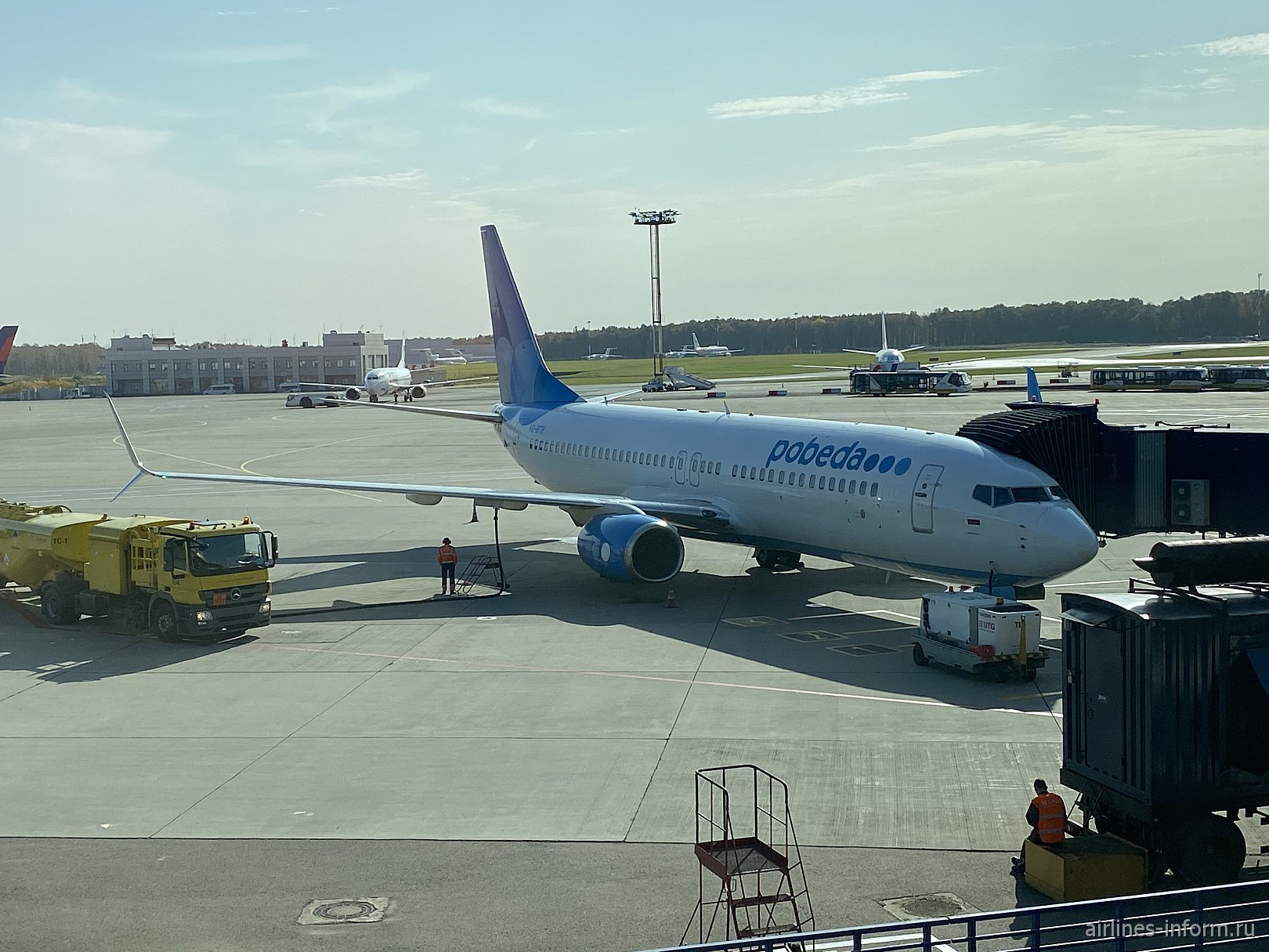 Москва - Санкт-Петербург с Победой на Boeing 737-800 VP-BQG