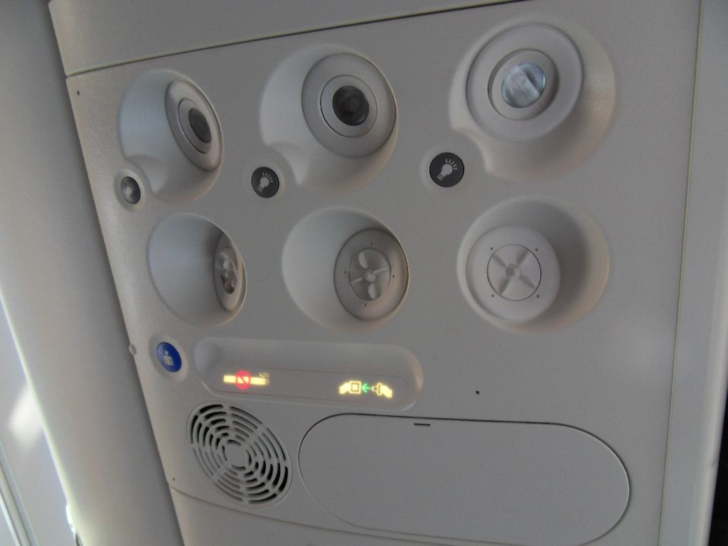 Салон самолета Боинг-737-800 авиакомпании Air Europa