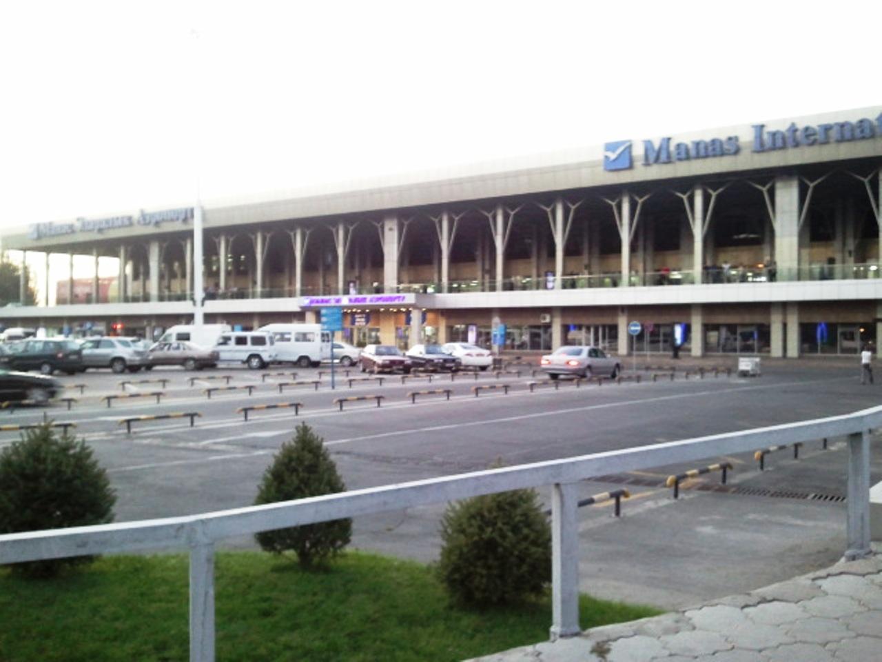 Аэропорт Манас в Бишкеке