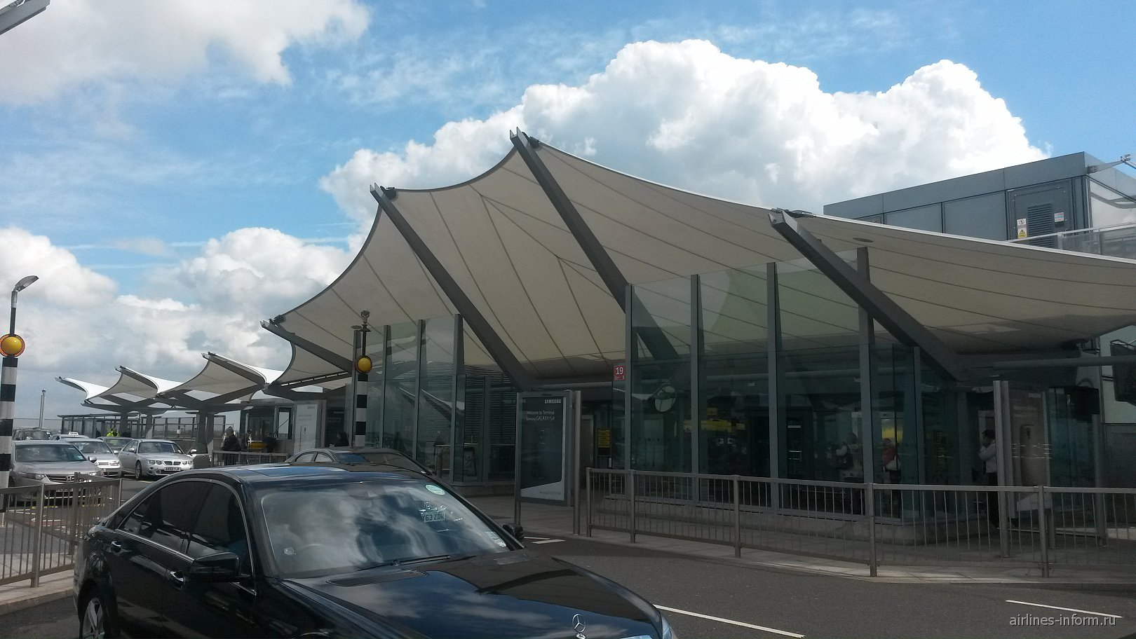 Вход в терминал 5 аэропорта Лондон Хитроу