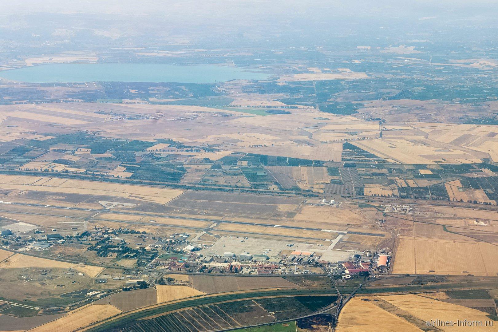Военный аэродром в Сицилии