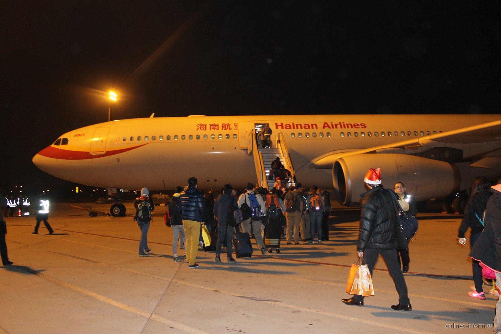 Перелет в новогоднюю ночь из Пекина в Бангкок с Хайнань эйрлайнс