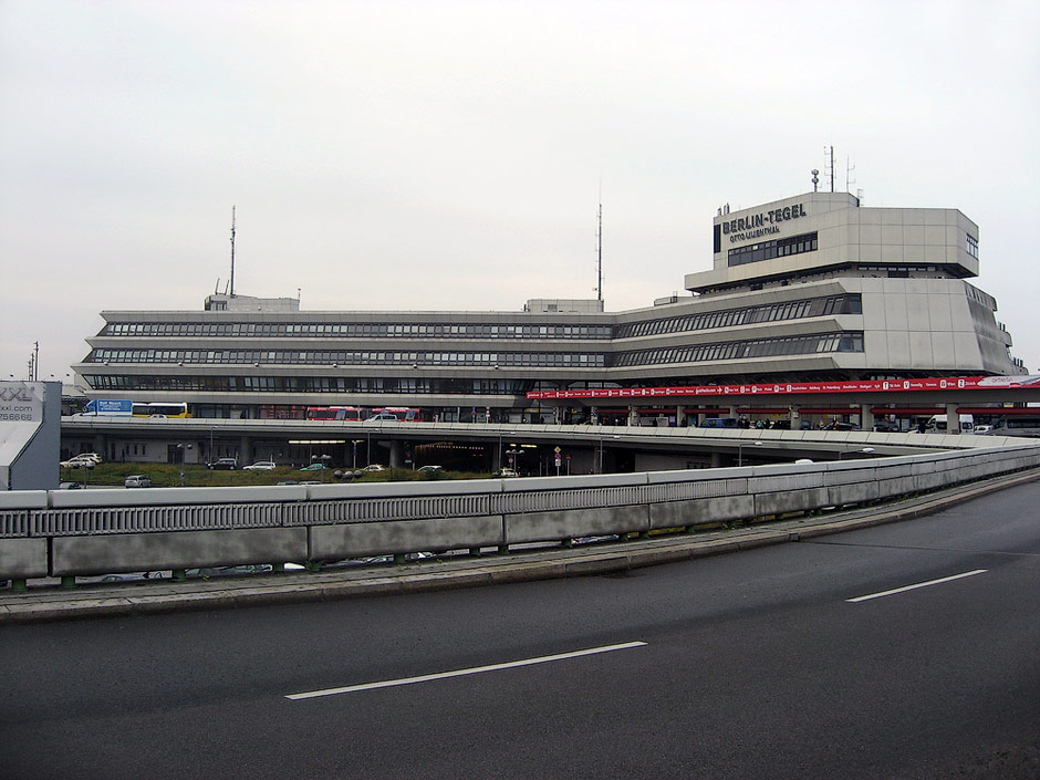 Passenger terminal in Berlin Tegel Airport