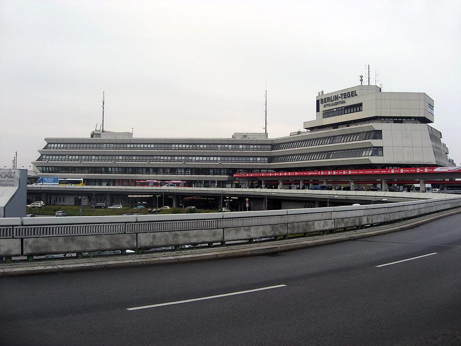 Passenger terminal in Berlin Tegel Airport