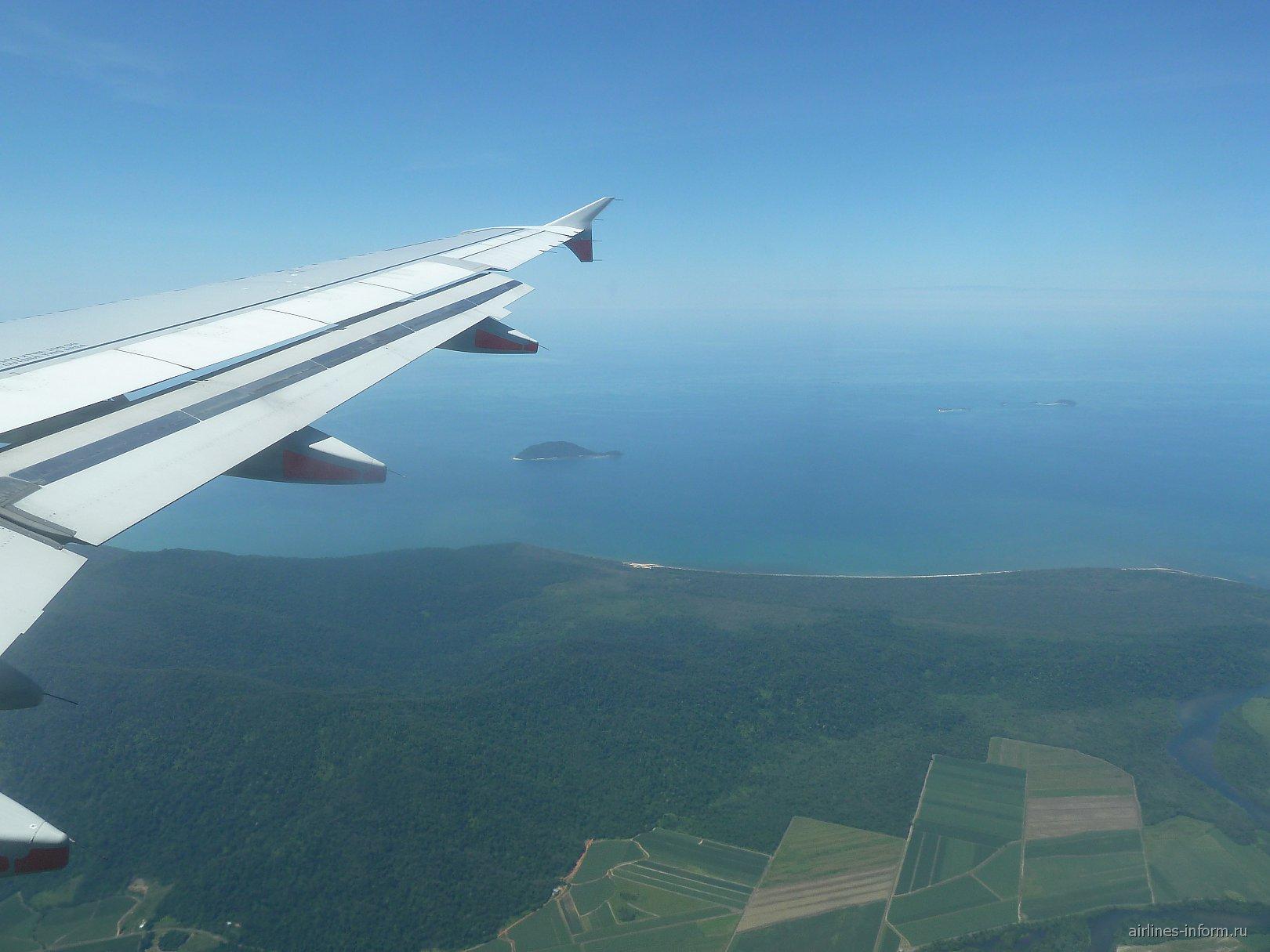 В полете над Австралией