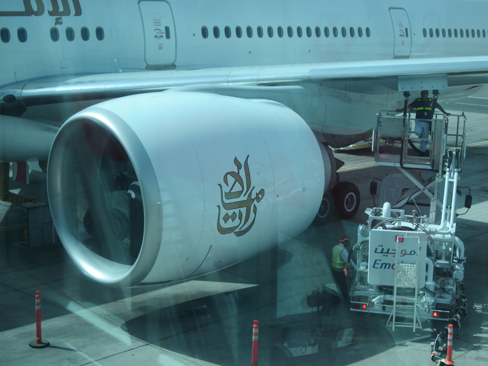Двигатель самолета Боинг-777-300