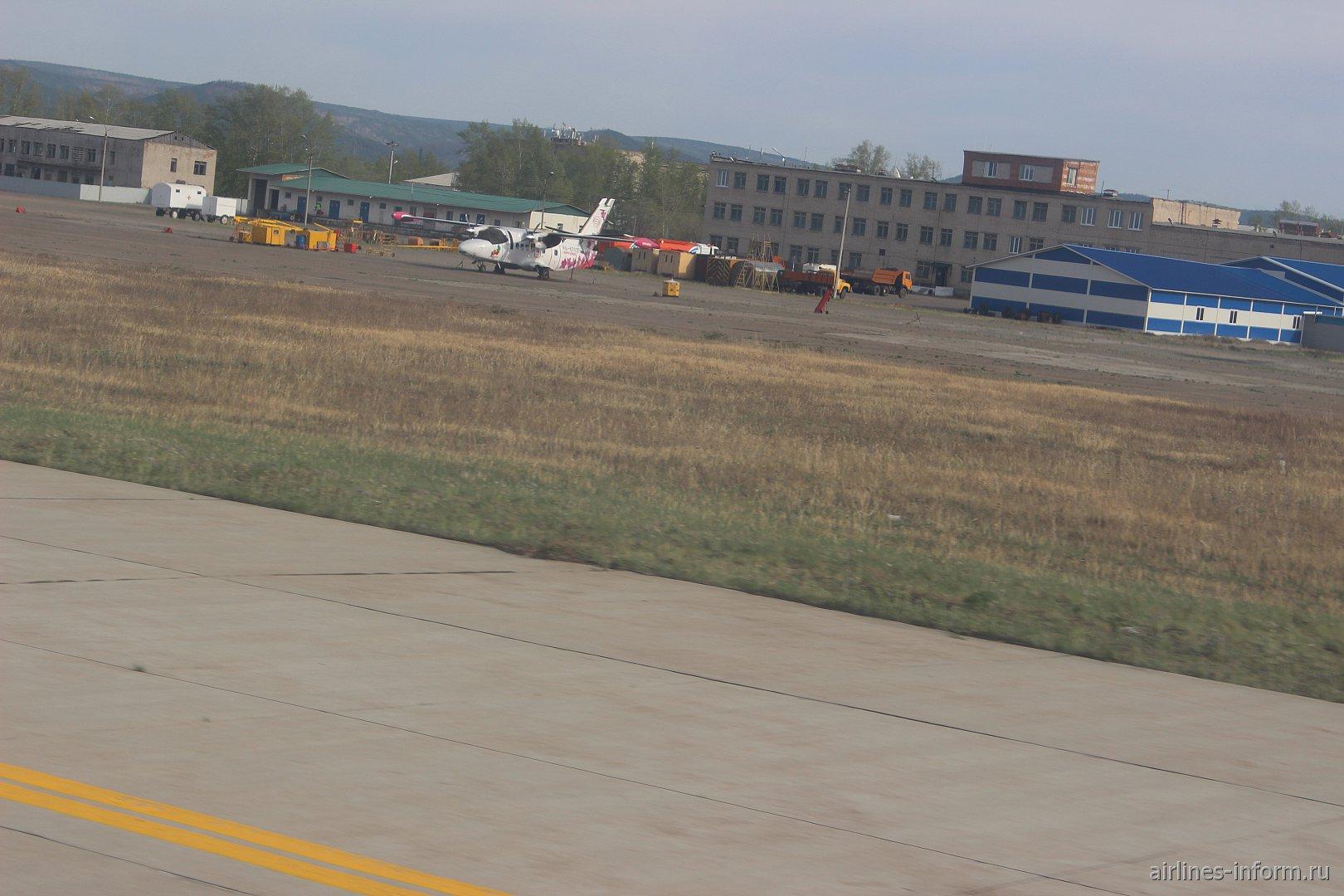 L-410 Аэросервич в аэропорту Читы