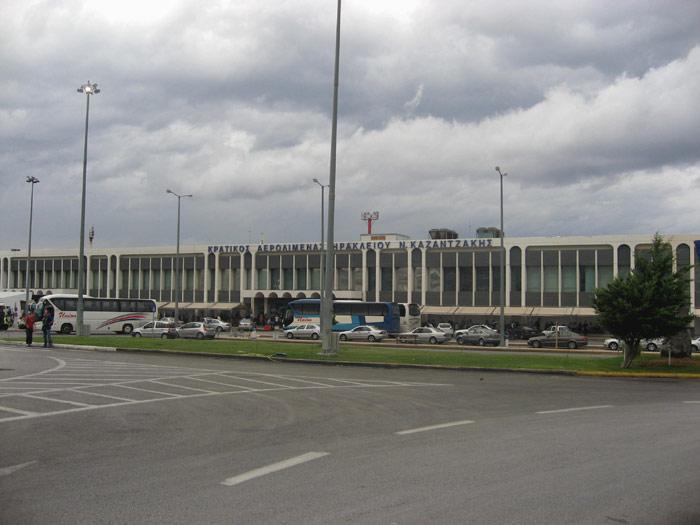 Аэропорт Ираклион, остров Крит