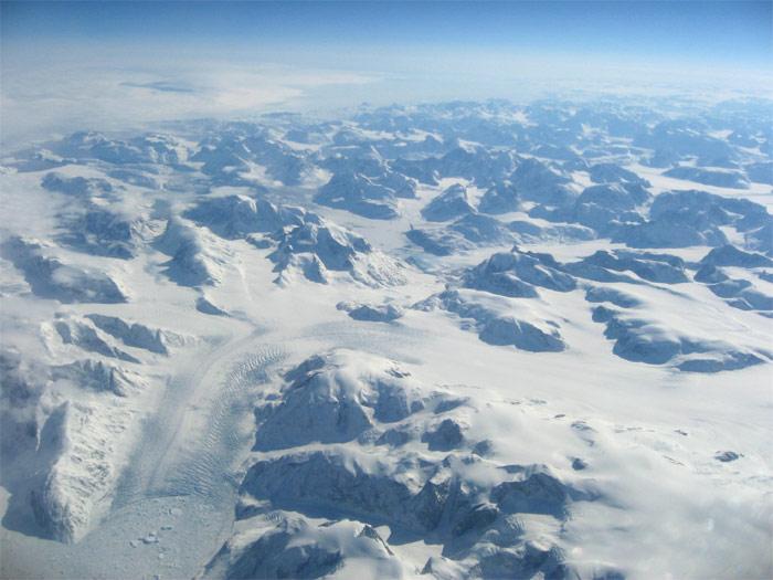 В небе над Гренландией