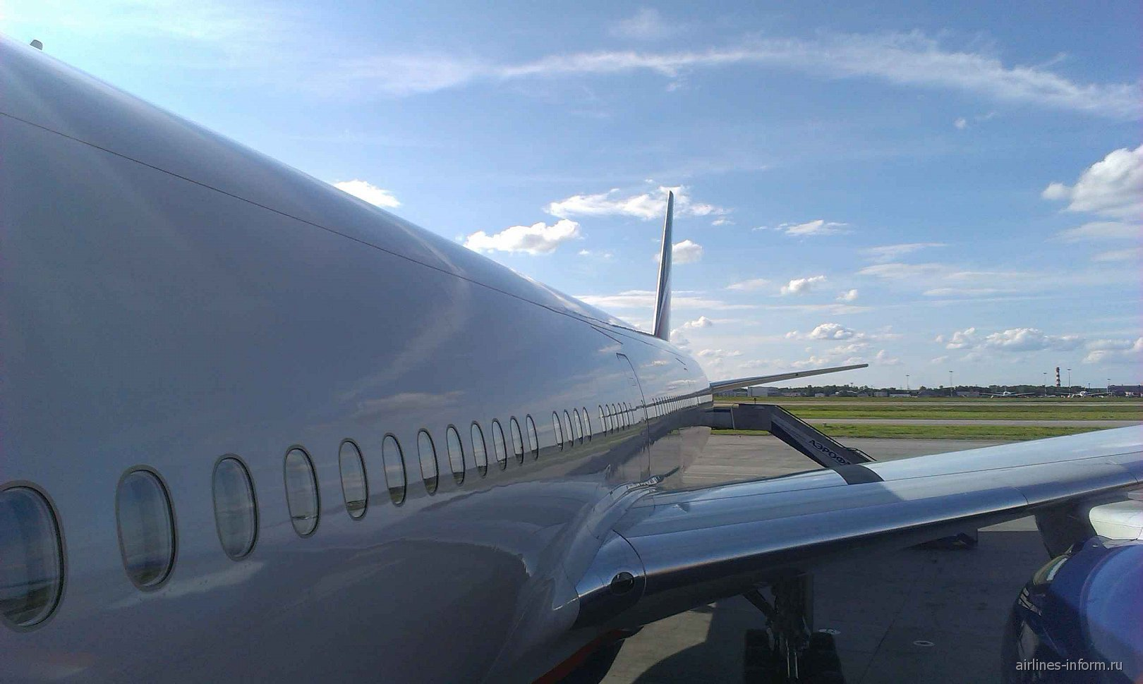 Посадка на рейс Аэрофлота Москва-Петропавловск-Камчатский