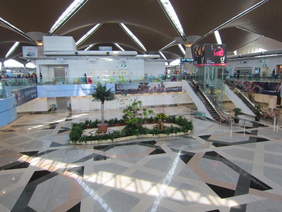 В аэропорту Куала-Лумпура