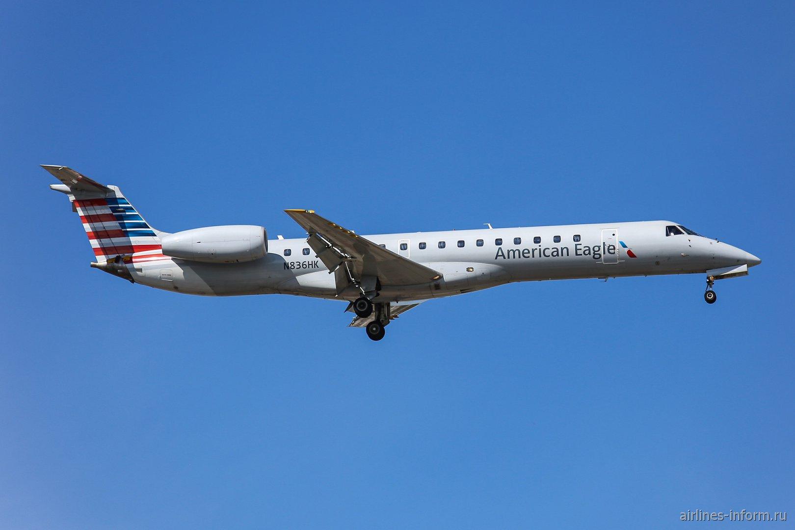 Самолет Embraer ERJ-145LR авиакомпании Trans States Airlines