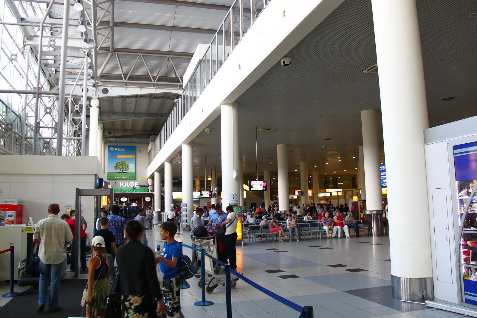 В терминале Б аэропорта Внуково