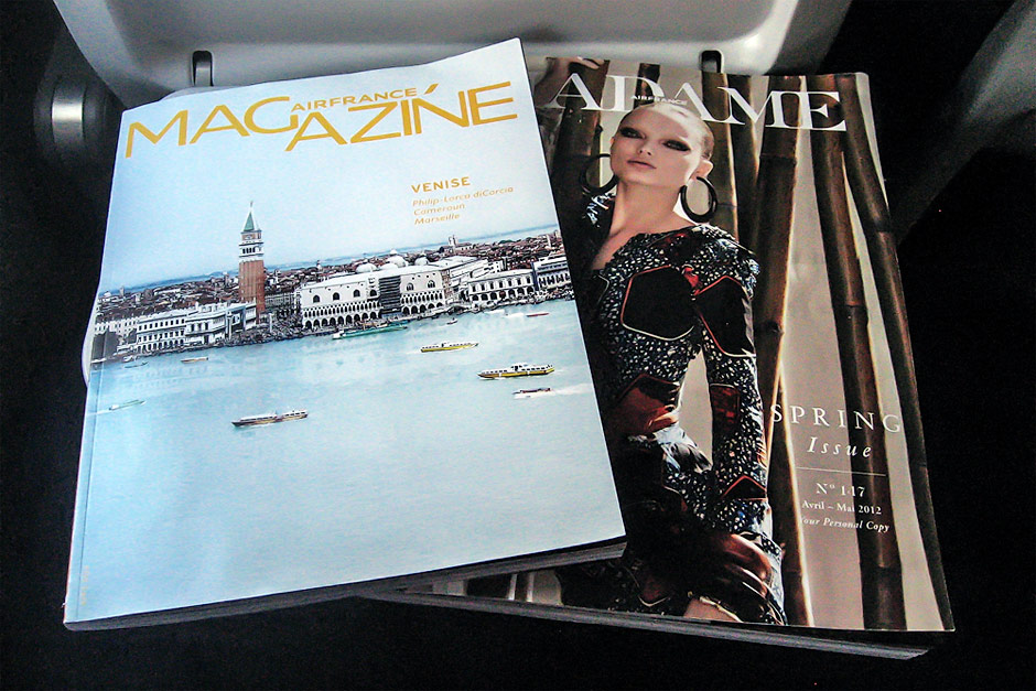 Журналы для пассажиров авиакомпании Air France