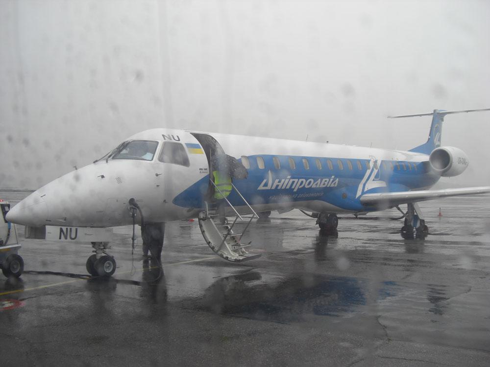 Embraer ERJ145 авиакомпании Днеправиа