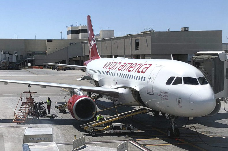 Лос-Анджелес (LAX) - Сан-Франциско (SFO) c Alaska Airlines / Virgin America