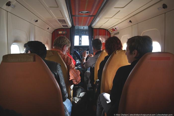 Салон самолета Dornier 228
