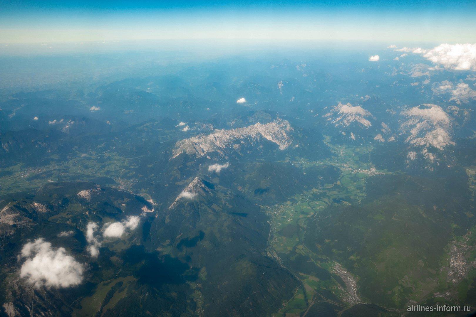 Долина реки Эннс в Австрии