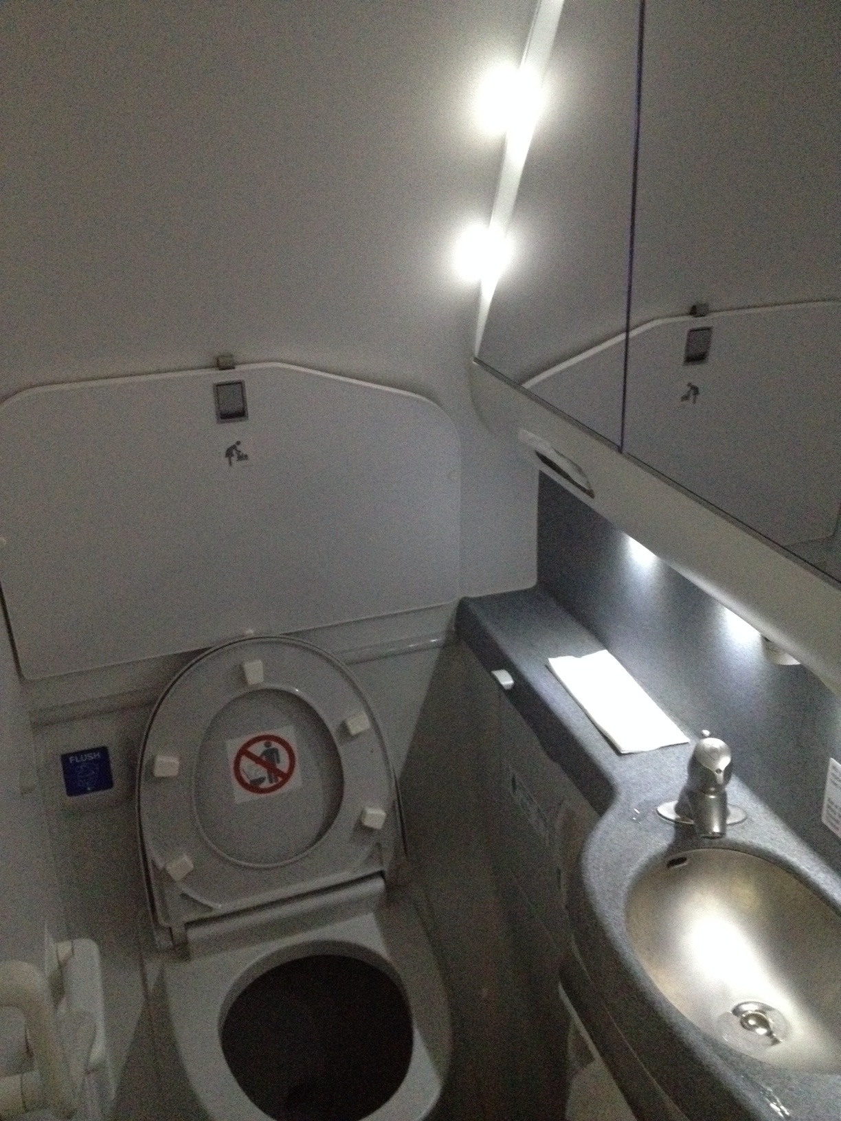 Туалет самолета Боинг-737-800 Аэрофлота