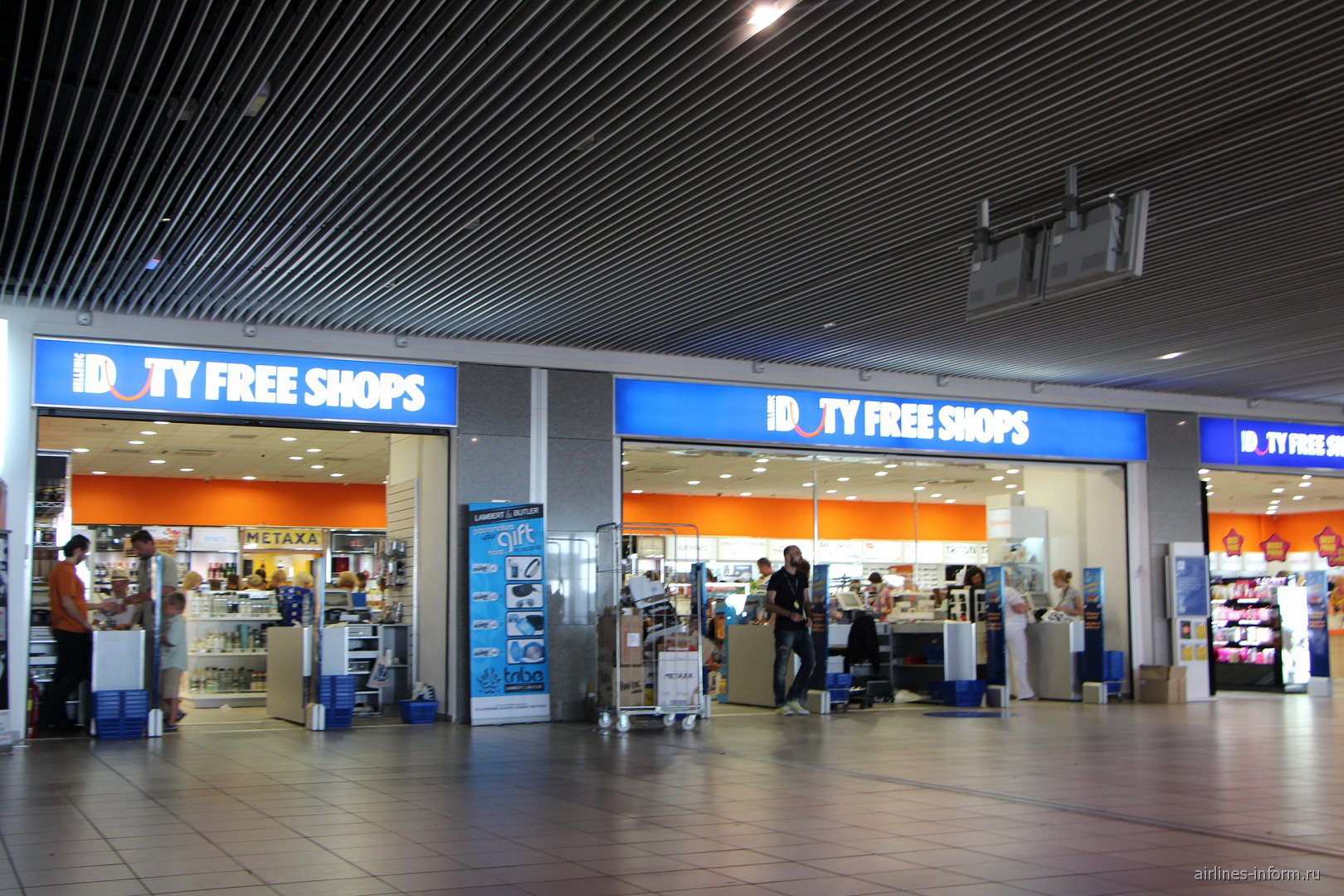 В аэропорта Диагорас острова Родос