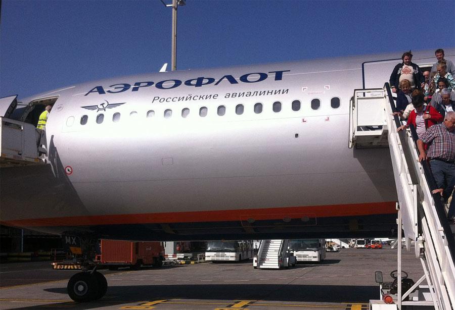 Москва-Тенерифе с Аэрофлотом