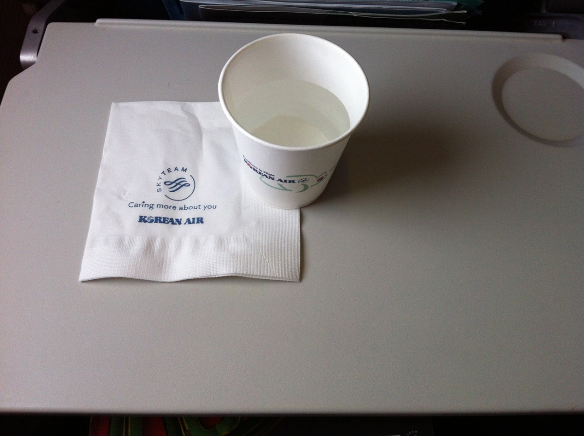 Refreshements of Korean Air