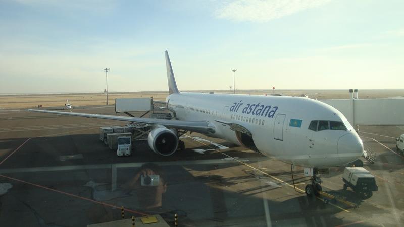 Боинг-767-300 авиакомпании Air Astana