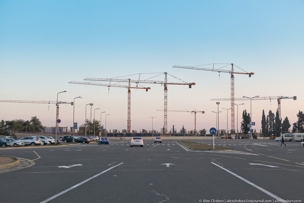 Constructing of new airport in Baku