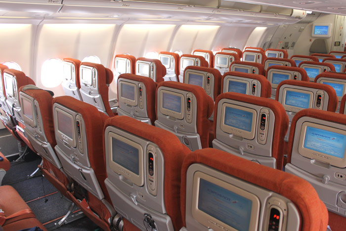 Нью-Йорк – Москва рейсом Аэрофлота