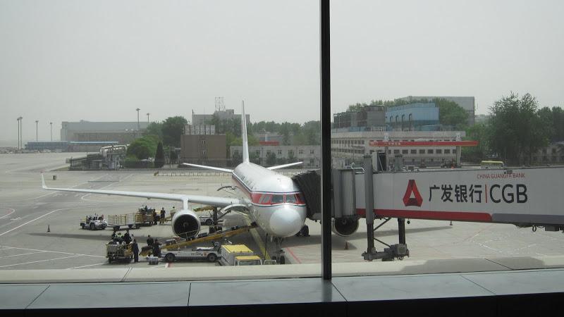 Самолет Ту-204-100 авиакомпании Air Koryo в аэропорту Пекина