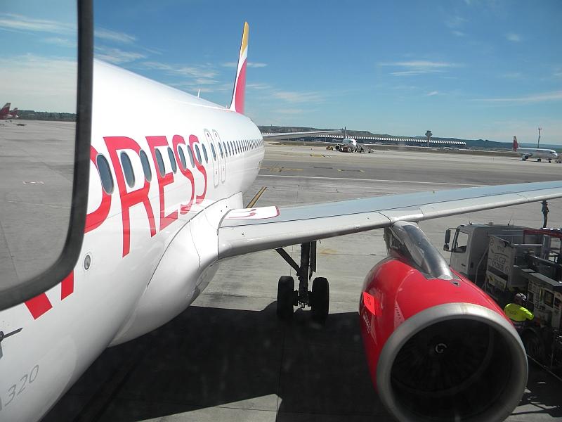 Airbus A320 авиакомпании Iberia Express