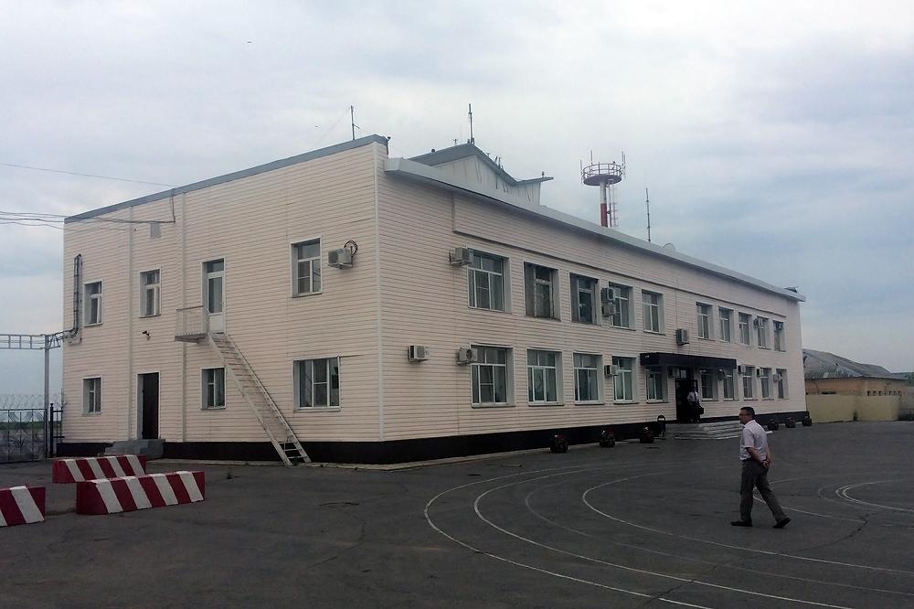 Диспетчерский пункт аэропорта Липецк