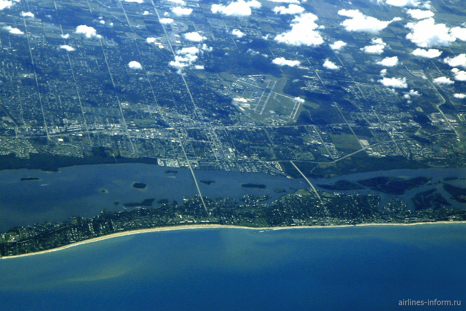 Городок Веро-Бич (Vero Beach), штат Флорида