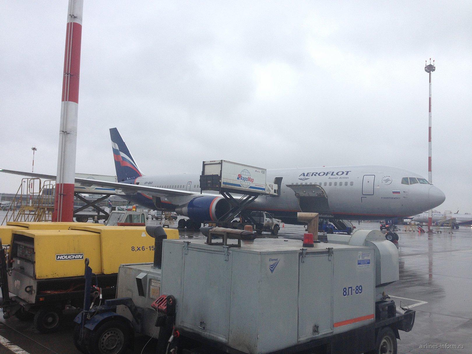 Самолет Боинг-767-300 Аэрофлота