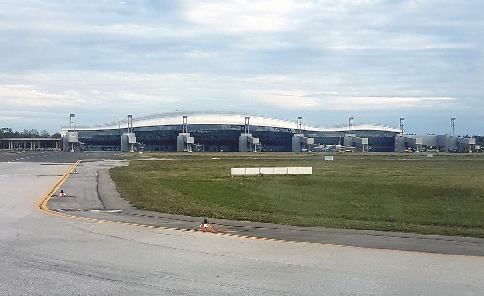 Новый пассажирский терминал аэропорта Загреб Франьо Туджман